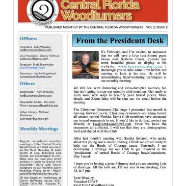 February 2021 CFWT Newsletter