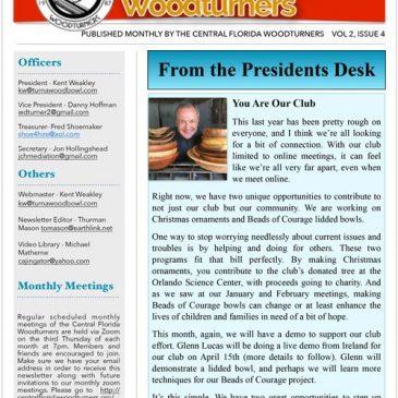 April 2021 CFWT Newsletter