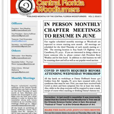 May 2021 CFWT Newsletter