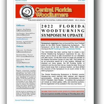 June 2021 CFWT Newsletter